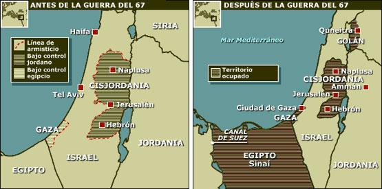 Mapa Guerra 6 días