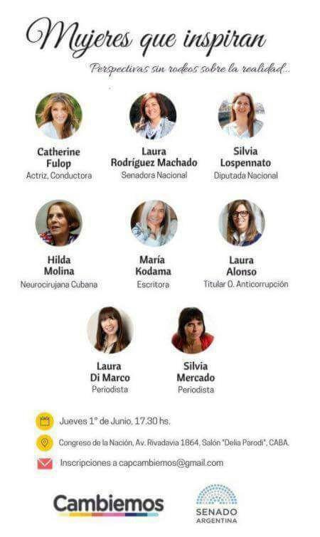 mujeres que inspiran al pro