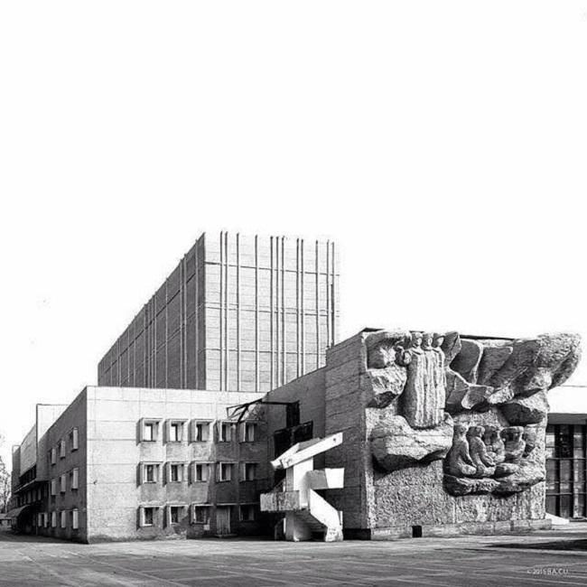 Bishkek, Kirguistán.  Teatro Dramático (1970)
