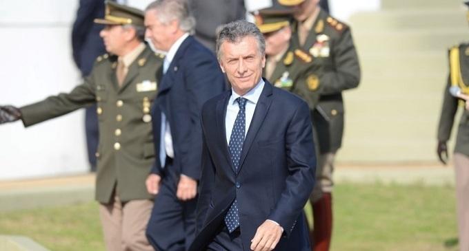 Macri anuncia la reforma del Sistema de Defensa Nacional