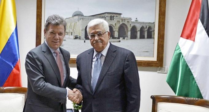 En sus últimos días de Gobierno, Santos reconoció a Palestina como Estado