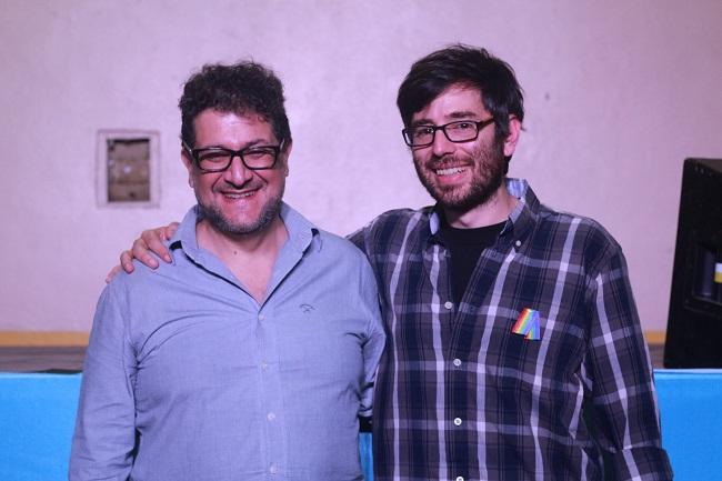 Luis Arias y Leandro Amoretti