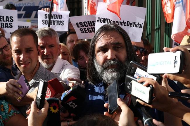 Roberto Baradel. Crédito: Ariel Martínez