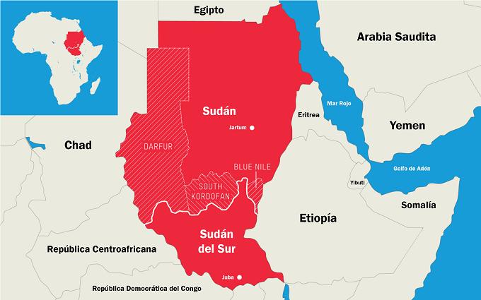 Sudan Darfur Sudan del Sur