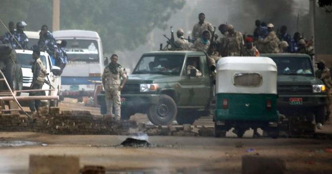 Sudan Soldados