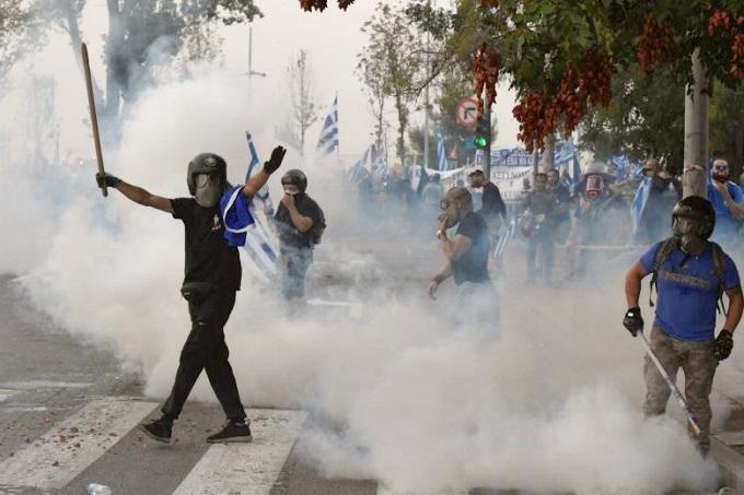 Protestas grecia