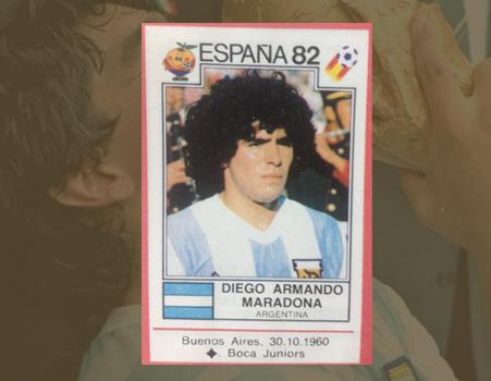 El diego en España 82