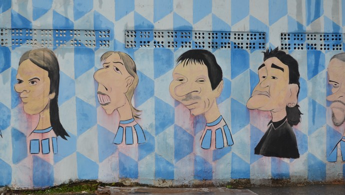 Jugadores argentinos en Rua Alexandre Farhat