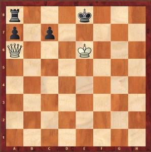 Problema ajedrez 1