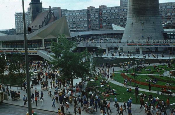 1973. Festival Mundial de la Juventud y los Estudiantes celebrado en Berlín