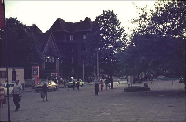 1979. Calles del distrito de Pankow en Berlín