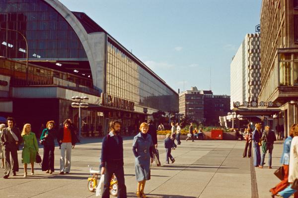 Alexanderplatz de Berlín en los años 80
