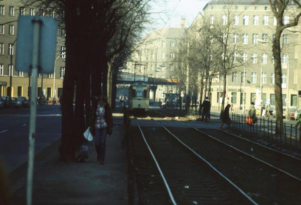 Las calles de Prenzlauer Berg, cerca de Berlín, en los años 80