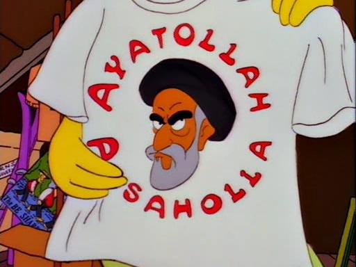 Ayatola Los Simpson
