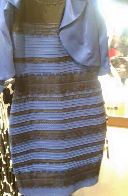 Vestido Azul o Blanco