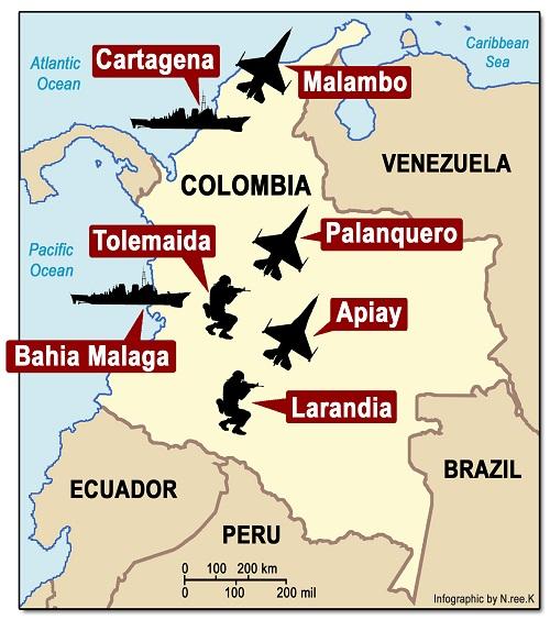 Bases EEUU Colombia