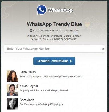Whatsapp Blue 2