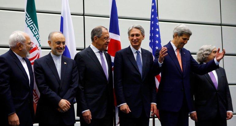 Firma del acuerdo acuerdo entre Irán y el G5+1