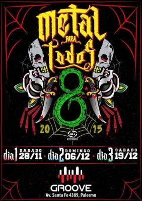 Afiche Metal para Todos