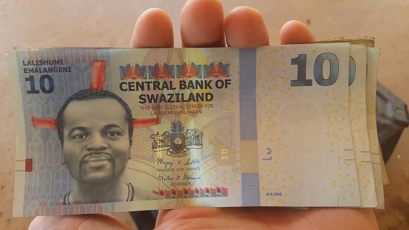Billete Suazilandia