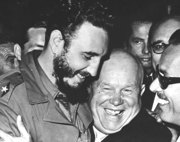 1960. Fidel y Kchrushchev