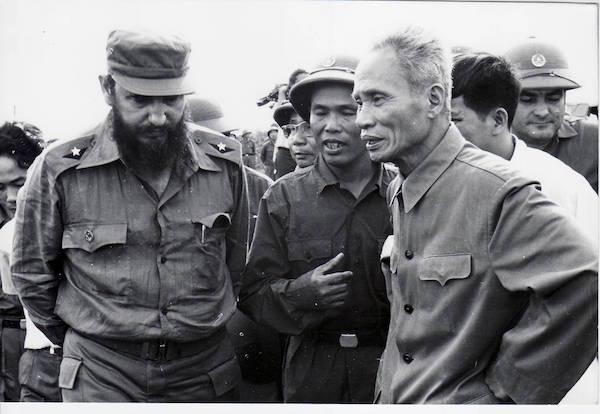 1973. Fidel en Vietnam