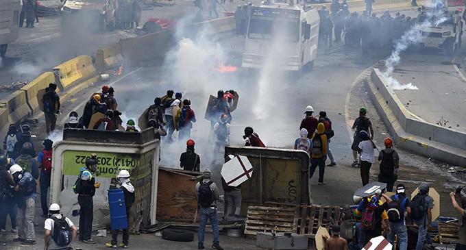 Resultado de imagen para Venezuela: Radiografía de la violencia antichavista