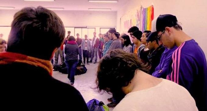 La Plata: se realizó una asamblea de varones feministas