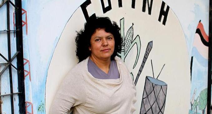 El asesinato de Berta Cáceres fue ordenado por una empresa hidroeléctrica