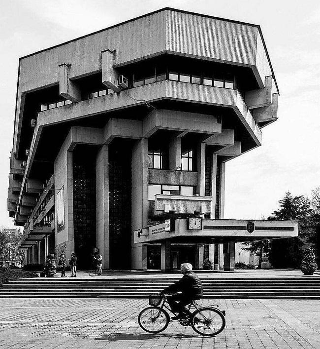 Ruse, Bulgaria. Edificio municipal (1985)