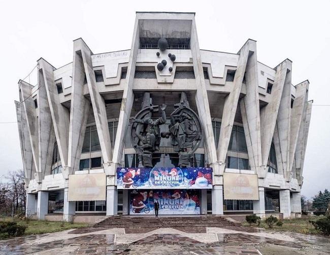 Chisinau, Moldavia. Circo Estatal (1981)
