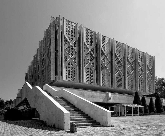 Tashkent, Uzbekistán. Museo de Historia Nacional, ex Museo Lenin (1970)