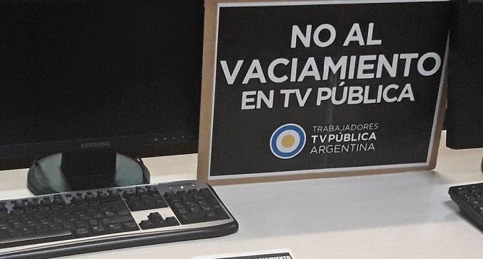 Trabajadores de la TV pública denuncian recortes y censura