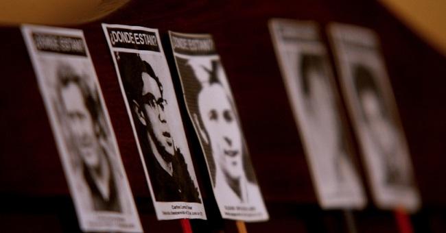 Imágenes de desaparecidos en Chile