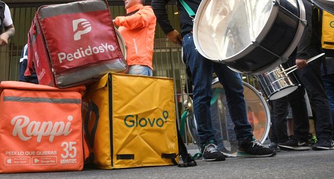 Realizaran un paro internacional los repartidores de delivery por las precarias condiciones en las que trabajan